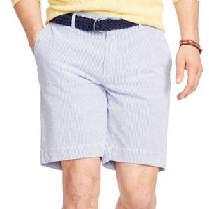 Polo seersucker shorts